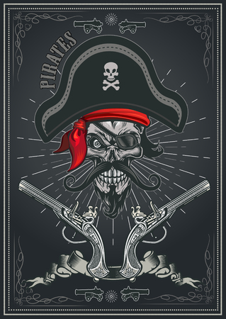 Jolly Roger Piratenschädel