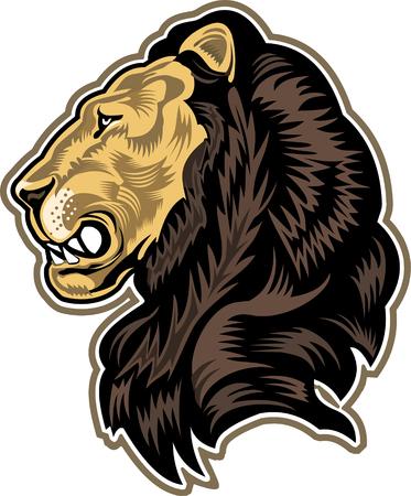 Face King Lion