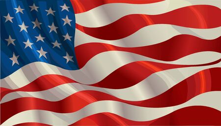 United Stated flag. American flags