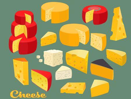 Most popular kind of cheese Foto de archivo - 135502408