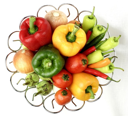 Collection of photo-realistic vector vegetables Stock Photo - 20874249