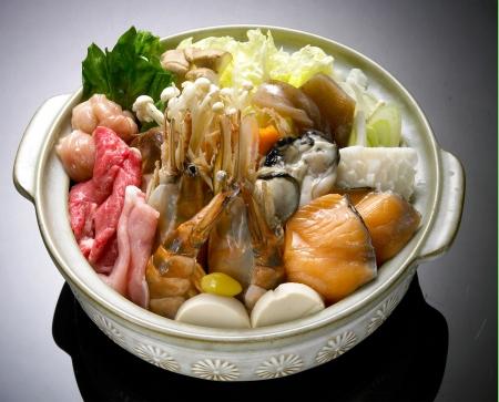 hot food: Beef Sukiyaki , Japanese Food chabu chabu