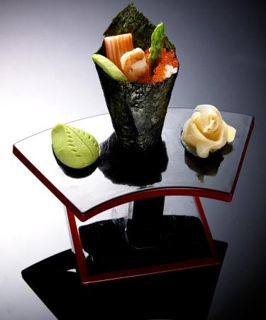 sashimi. Traditional japanese food