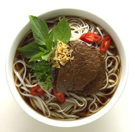 asian noodle: thai Noodle Soup