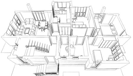 3d: 3D building