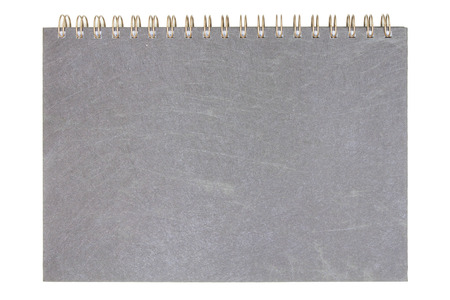 Recycled paper notebook front cover 版權商用圖片