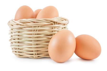 animal egg: Eggs in basket