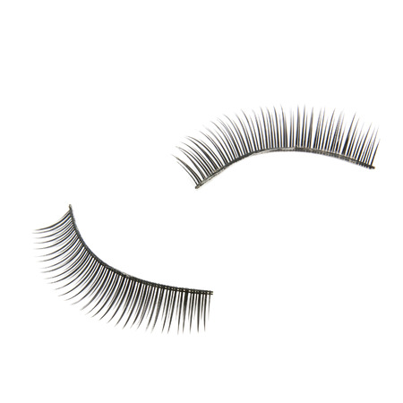 false eyelashes isolated on white 版權商用圖片
