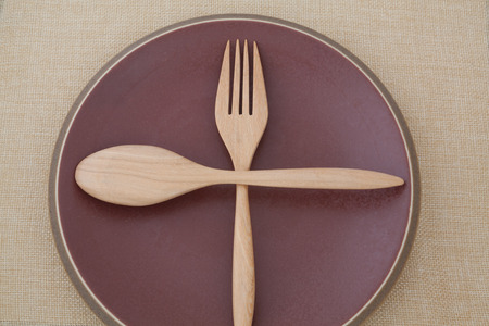 Place the knife and fork photo