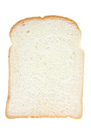 pain blanc: Tranche de pain blanc
