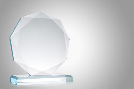 Glass trophy 版權商用圖片 - 35979292