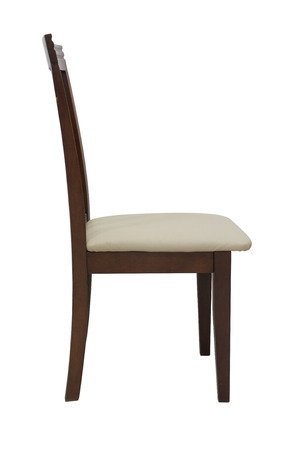 wooden chair  isolated on white background,  file includes a excellent clipping path