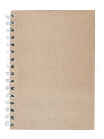 moleskine: Recycled paper notebook front cover Stock Photo