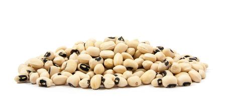 black eyed peas beans  isolated on a white background 版權商用圖片 - 41805937