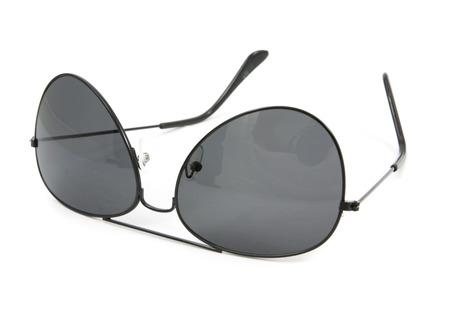 aviator: aviator sunglasses isolated on white Stock Photo