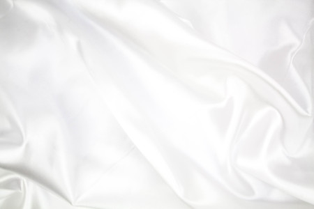 crease: smooth elegant white background luxury cloth or liquid wave can use as wedding background Stock Photo
