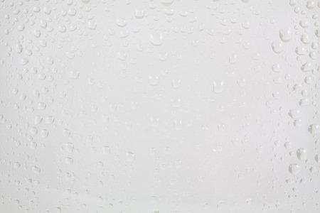 rain window: water drops on glass background