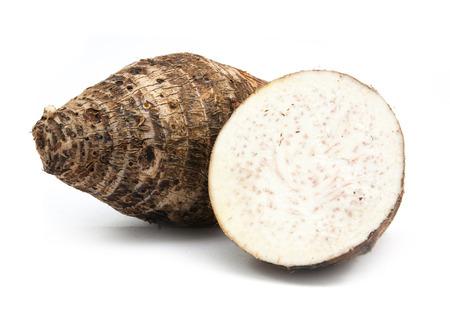 slice of taro isolated on white background 版權商用圖片 - 58687907