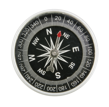 compass top view of isolated 版權商用圖片