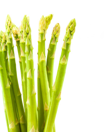magnoliopsida: An isolated still life of asparagus Stock Photo