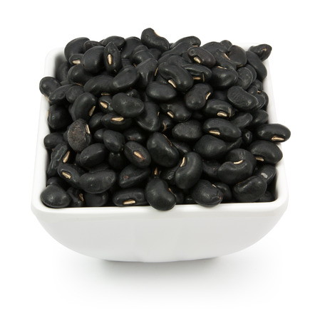Black Beans cup isolated on a white background
