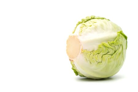 cabbage isolated on white background Stock Photo