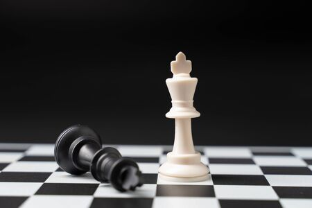 Set chess on a chessboard