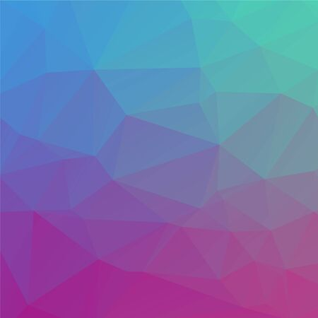 polly: Abstract colorful geometric background with triangles. Low polly pattern for design Illustration
