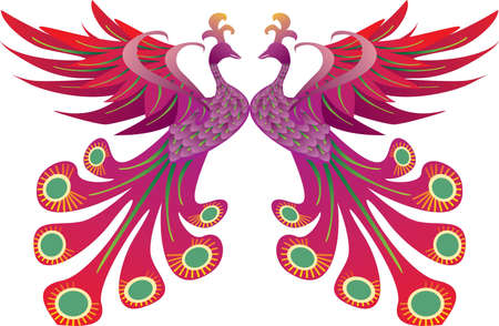 Pride of Phoenix Vector