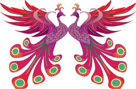 Pride of Phoenix Illustration