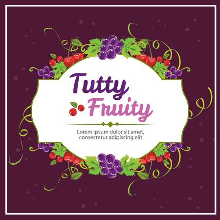 fruity: tutty fruity