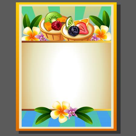 butternut squash: fruit pie poster