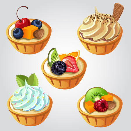 butternut squash: fruit pie Illustration