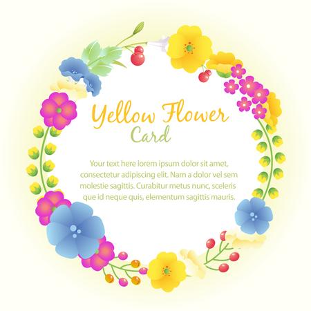 wedding yellow wreath