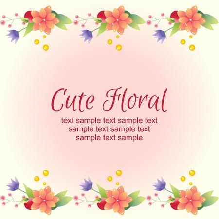 card: cute card Illustration