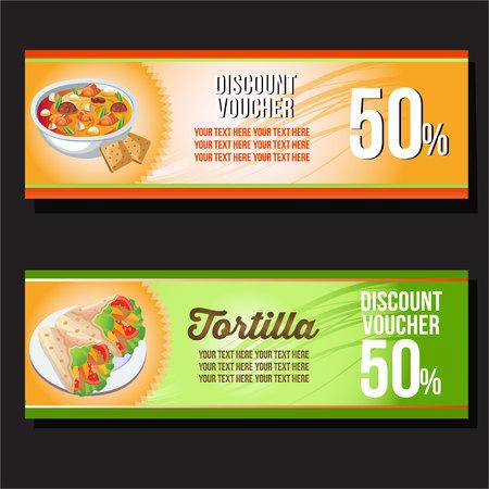 tortilla horizontal banner