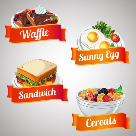 breakfast item set