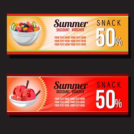 summer snack voucher discount