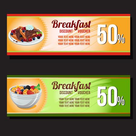 two breakfast discount voucher