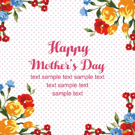 Mothers day rose card