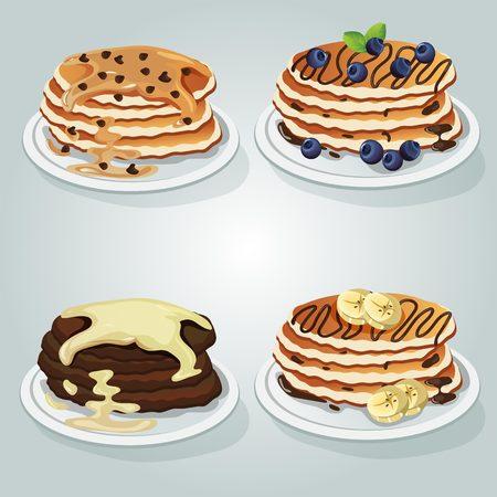 various pancake set