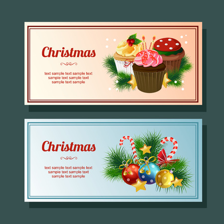 Christmas cupcakes clipart. Christmas sweets and cakes clip | Etsy