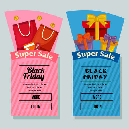 black friday campaign banner