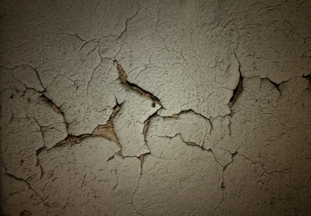 Grunge background with cracked stucco Stock Photo - 19289751