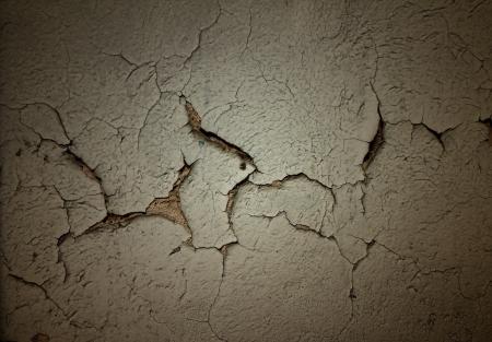 flaky: Grunge background with cracked stucco Stock Photo
