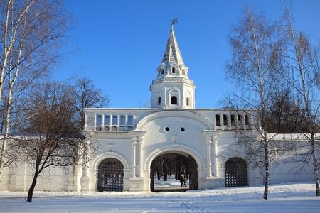 izmaylovskiy: Moscow. Russia. Beautiful winter landscape. Stock Photo