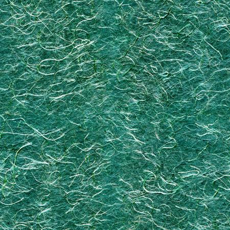 rice paper: Seamless texture malachite-colored rice paper. Stock Photo
