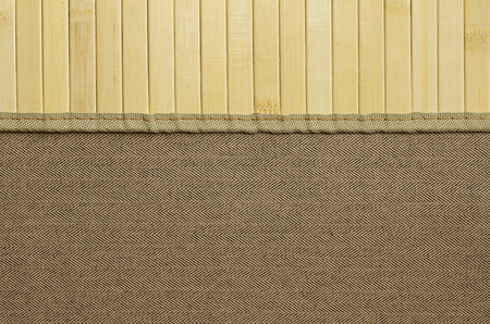 tweed: Background for design. Tweed and light wood. Wood and cloth. Stock Photo