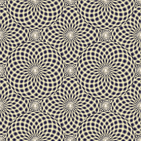 hypnotist: Abstract geometric background with spheres. Abstract stylish seamless pattern.