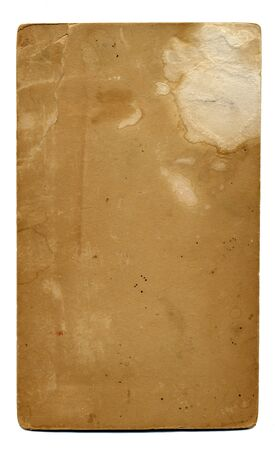 An old vintage grunge paper: stained, water damaged, and very cool!